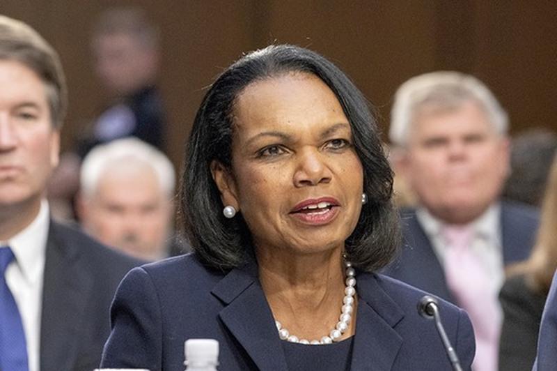 Nursultan Nazarbayev sets the example for the whole world, Condoleezza Rice