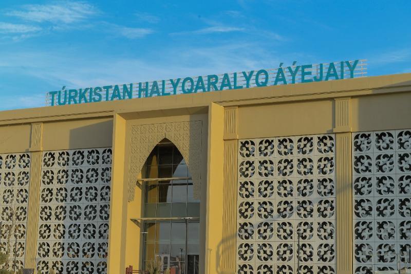 Международный аэропорт Hazret Sultan Airport открылся в Туркестане