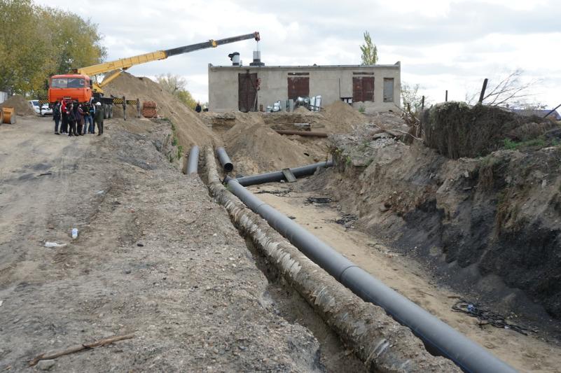 Канализационный дюкер через реку Иртыш сдали в эксплуатацию в Семее