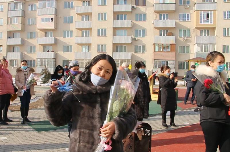 Алматы облысында 60 пәтерлі көпқабатты үй пайдалануға берілді