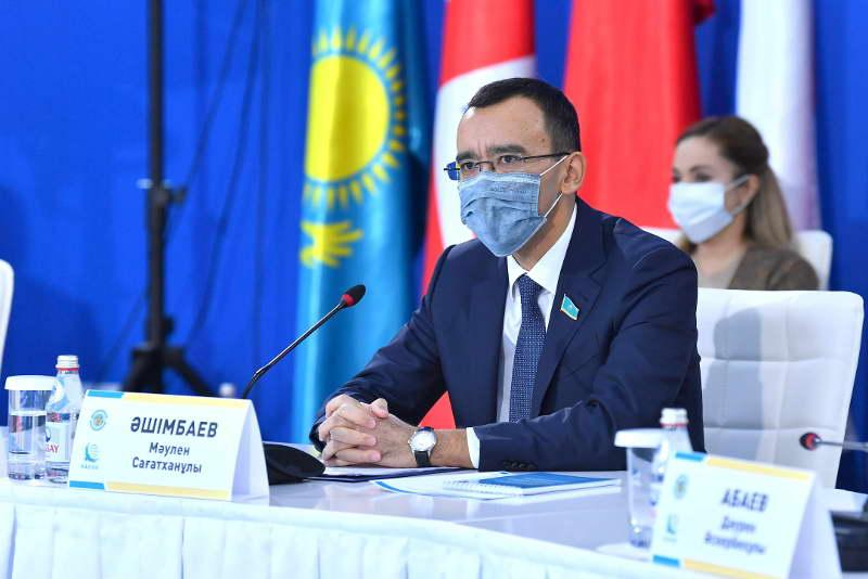 Senate Speaker highlights Elbasy's initiatives at int'l conference