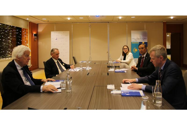 Sweden holds roundtable dated to Day of First President of Kazakhstan