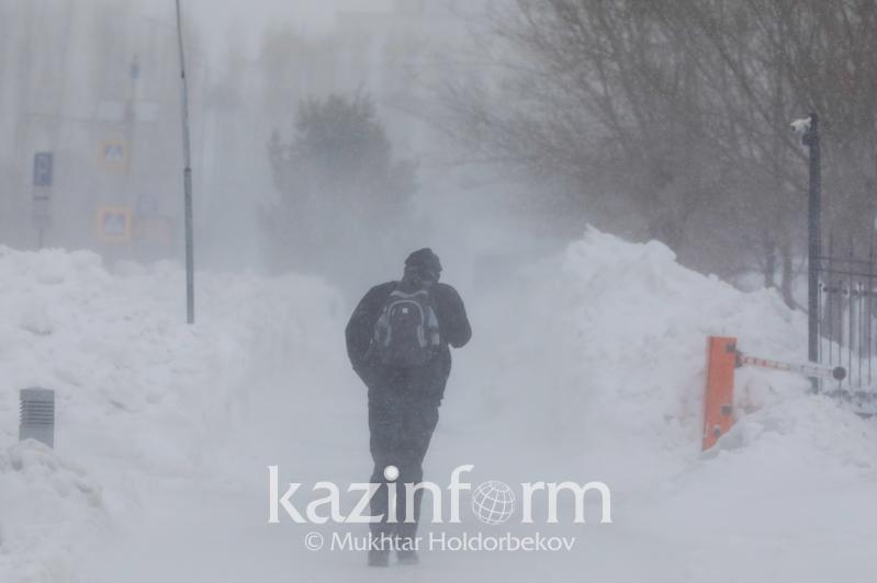 Weather conditions to worsen in several regions of Kazakhstan