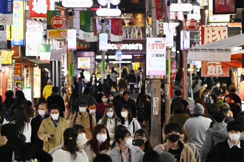 Tokyo sets monthly record of 9,857 coronavirus cases in November
