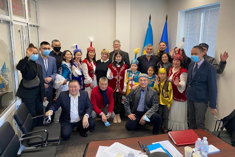 В Украине открылся казахский культурно-деловой дом «Abaı Úıi»