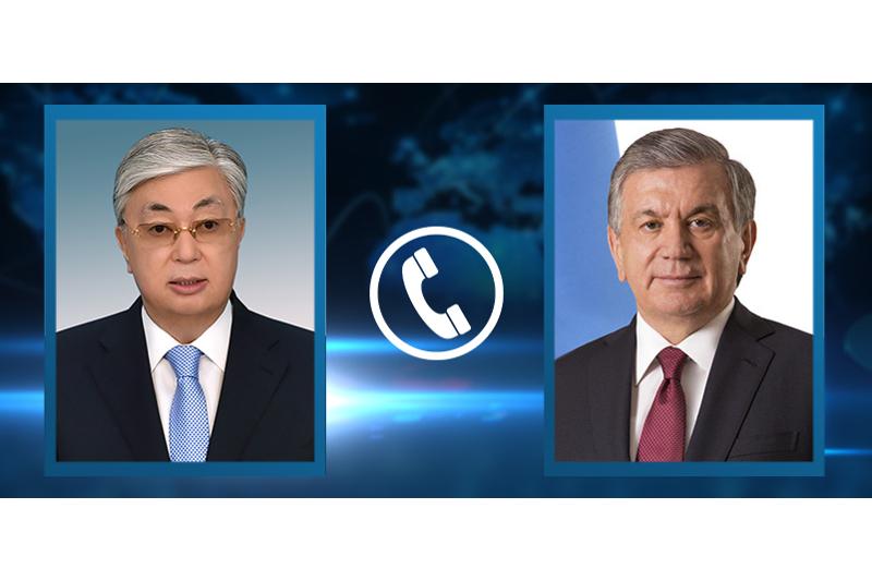 Состоялся телефонный разговор Главы государства с Президентом Узбекистана