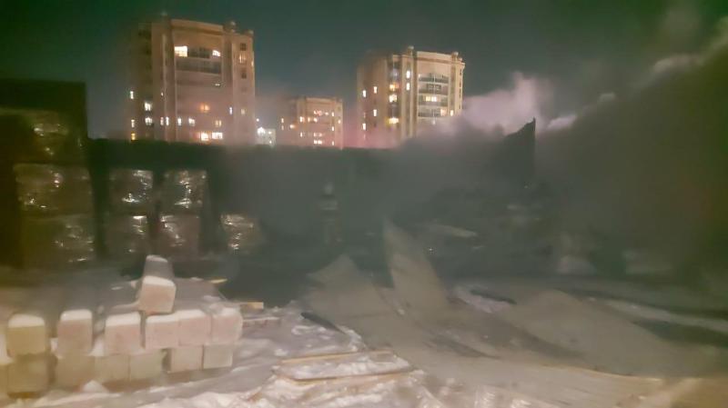 Еще один взрыв газового баллона: столовая сгорела в столице
