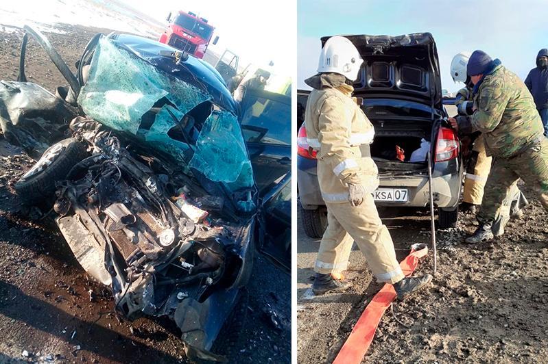 Смертельное ДТП в ЗКО: умерла еще одна пассажирка
