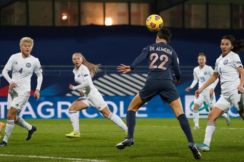 Женская команда Казахстана по футболу уступила в заключительном  матче отбора чемпионата Европы