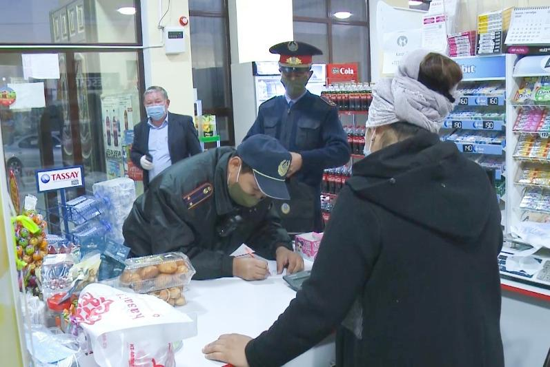 168 мобильных групп следят за соблюдением санитарных норм в Карагандинской области