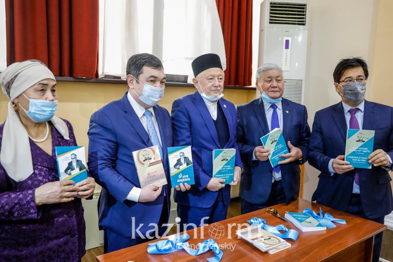 Al Farabi and Akzhan Mashani books presented in Almaty