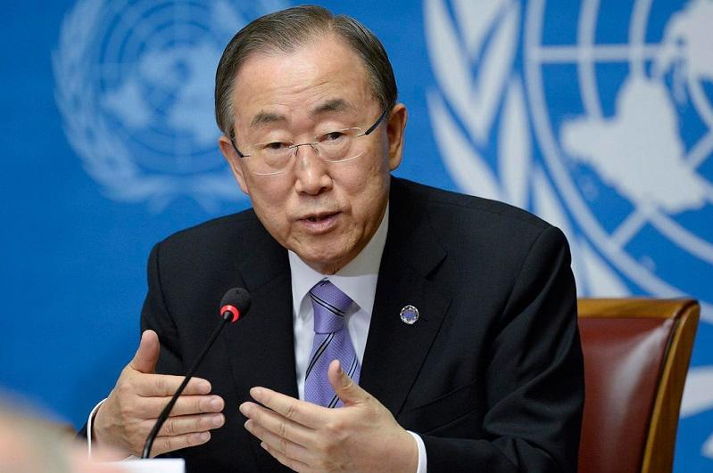 Нурсултан Назарбаев издал дальновидный указ о закрытии испытательного полигона - Пан Ги Мун