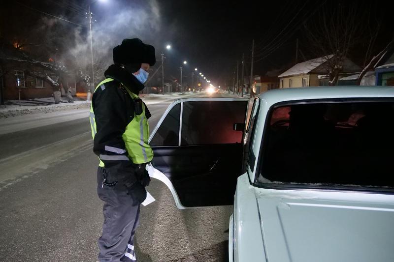 Частые причины аварий на дорогах назвали полицейские СКО