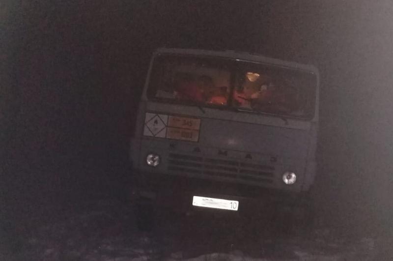 Водитель из Костаная поблагодарил за помощь на трассе полицейских СКО