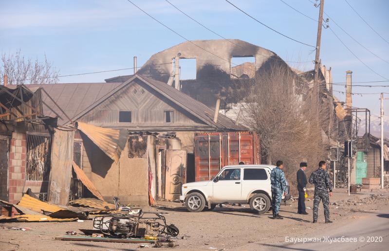 Начался судебный процесс по массовым беспорядкам в Кордае