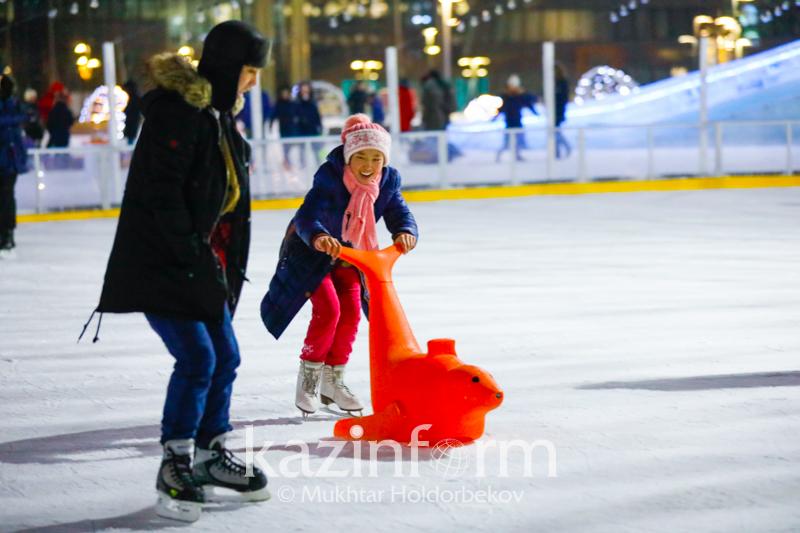 EXPO skating rink to open at Kazakh capital