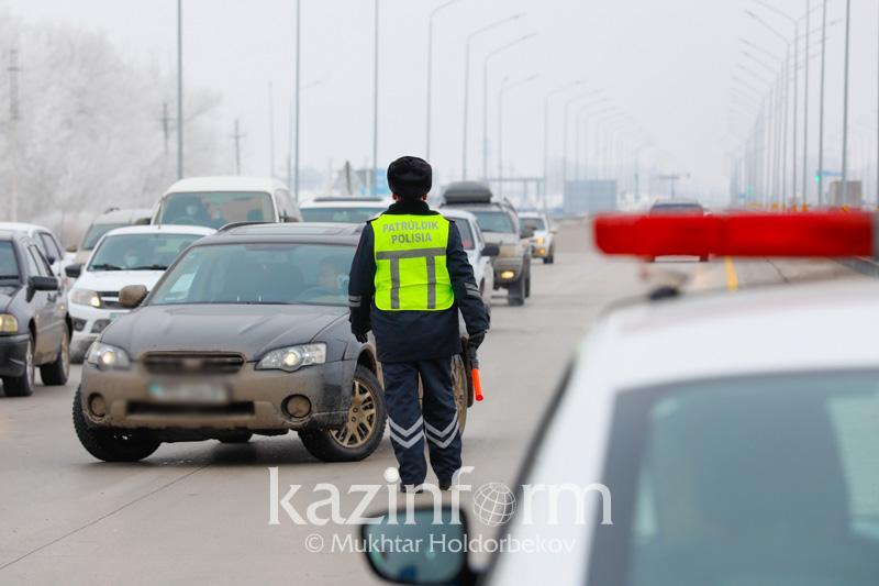 Түркістан облысында жол ережесін бұзғандарға 4 млрд теңге айыппұл салынды