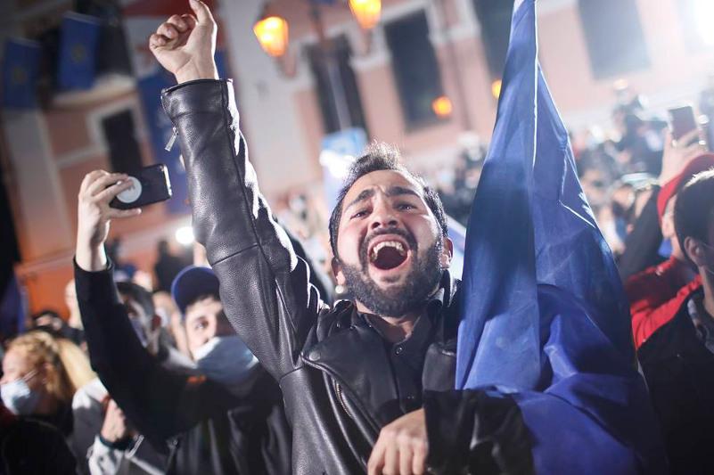 Правящая партия Грузии победила на парламентских выборах