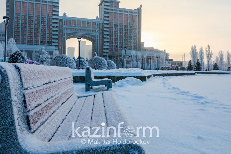 Frosty weather to grip Kazakhstan this weekend