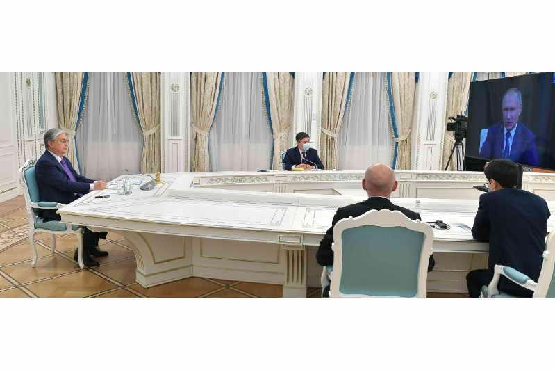 Президент Казахстана выступил на онлайн-конференции «Artificial Intelligence Journey»