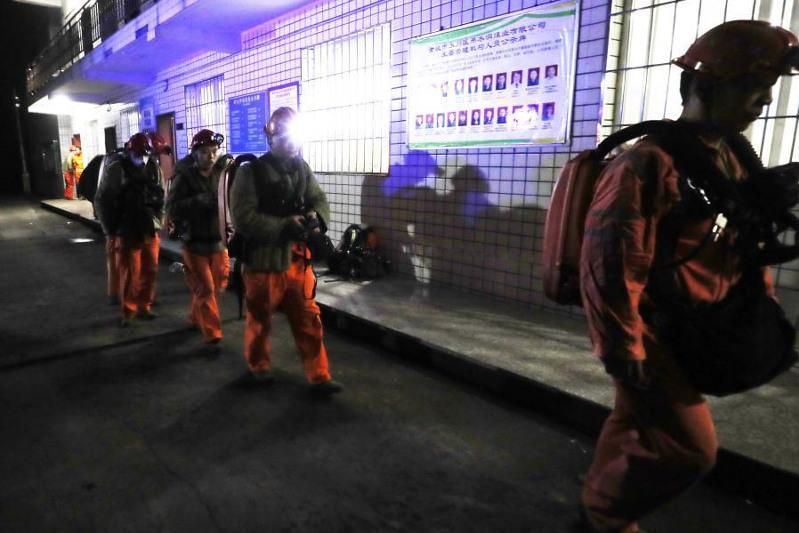 18 горняков погибли в угольной шахте в Китае
