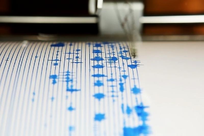 В 414 км от города Алматы произошло землетрясение
