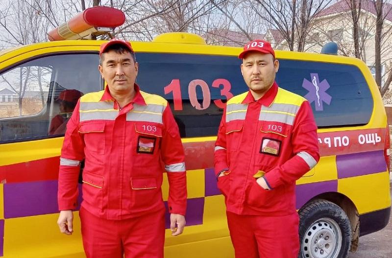 Первенца в карете «скорой помощи» родила женщина  в Туркестанской области