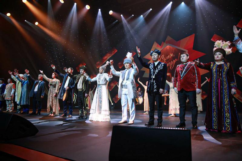«Сәлем, елорда!» республикалық өнер фестивалінің гала-концерті өтті