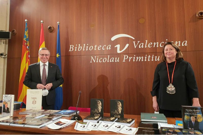 阿拜诞辰175周年庆祝活动在巴伦西亚举行
