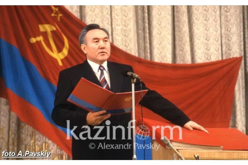 Нұрсұлтан Назарбаевтың алғашқы инаугурациясы қалай өтті