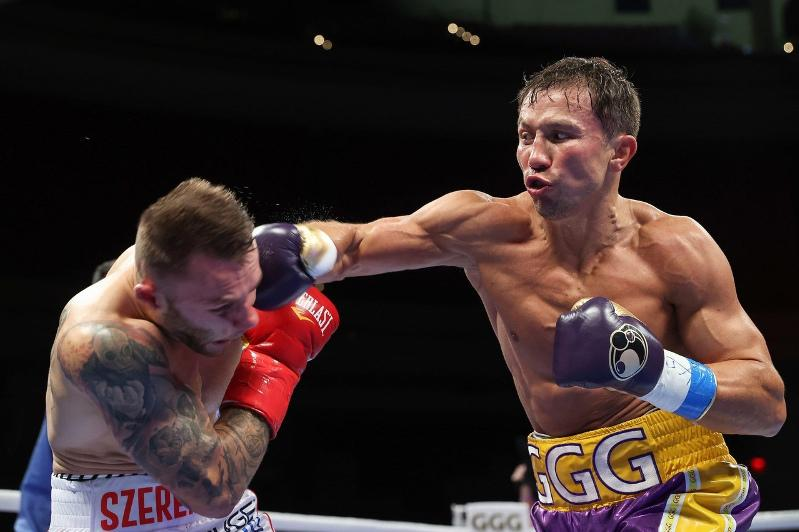 GGG knocks down Kamil Szeremeta four times