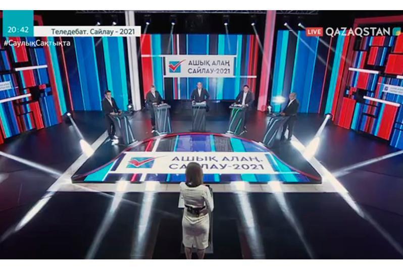议会选举:五大政党举行选前电视辩论