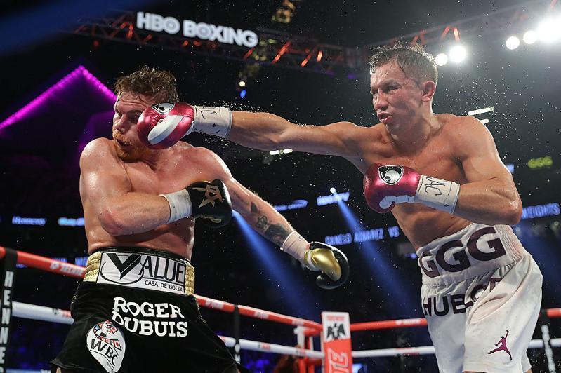 职业拳击:阿尔瓦雷斯对手当中戈洛夫金的有效击中率最高