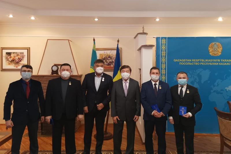 TURKSOY Abai Order awarded in Ukraine