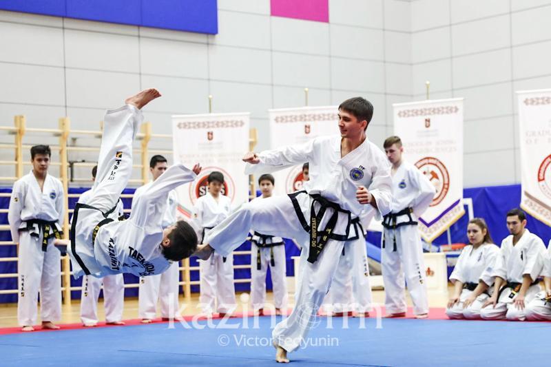 Ассоциация боевых искусств Казахстана провела акцию по поддержке многодетных семей