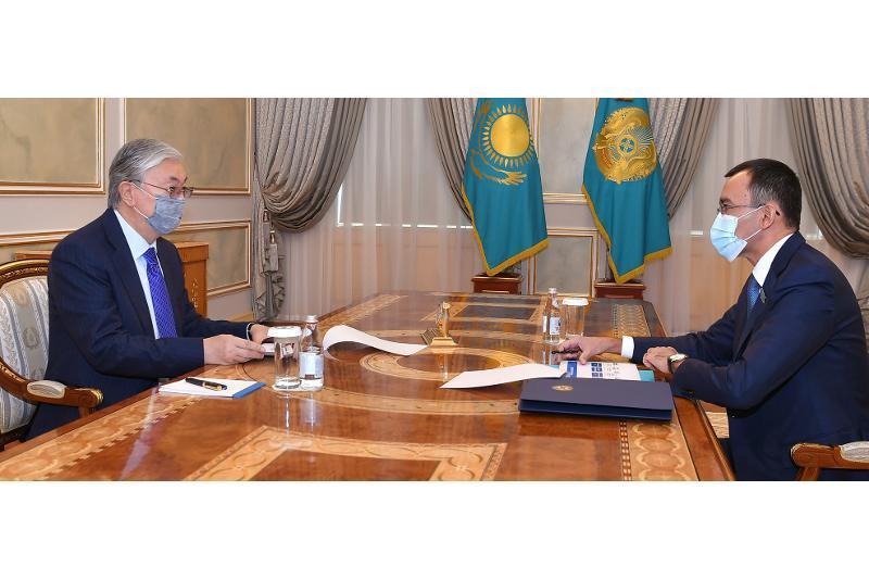 ҚР Президенти Сенат Раиси билан учрашди
