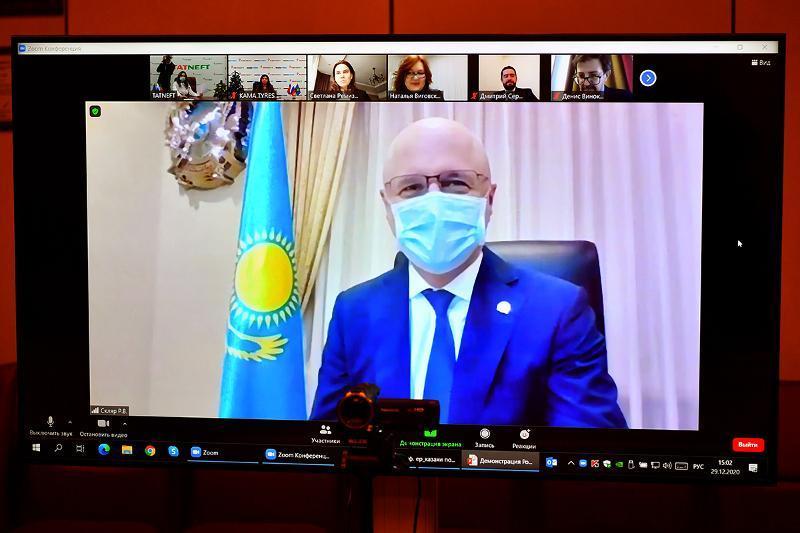 哈萨克斯坦政府与塔特尼夫特公司签署机械工程发展协议