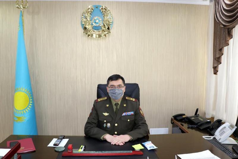 Назначен новый начальник Департамента по ЧС города Алматы