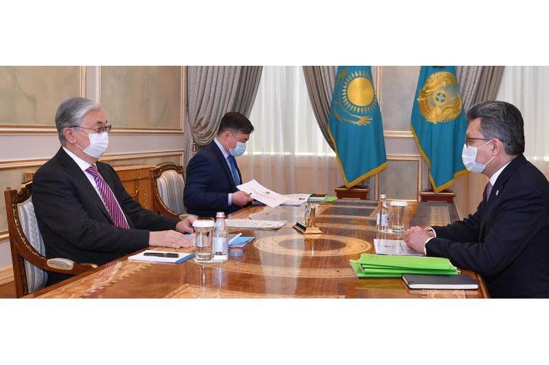 Қозоғистон Президенти Савдо ва интеграция вазирни қабул қилди