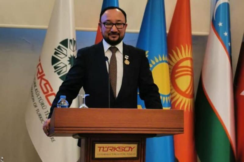 Kazinform News Agency board member awarded Abai 175thanniversary medal