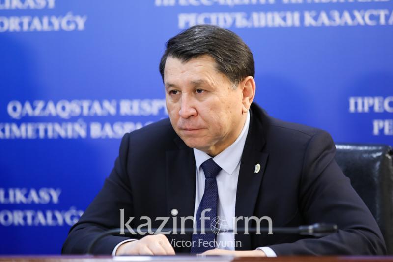 Жандарбек Бекшин обратился к бессимптомным больным КВИ