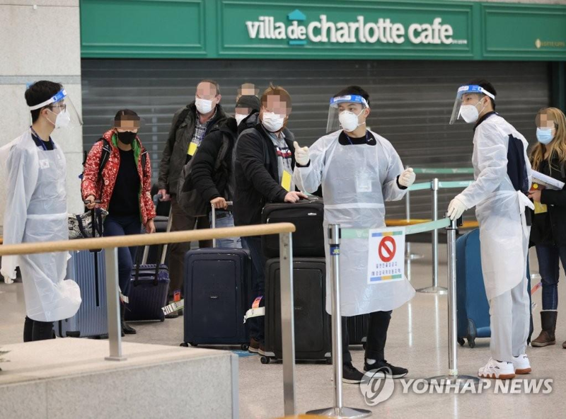 S. Korea past 3rdpeak of pandemic, tougher curbs in place against foreign arrivals