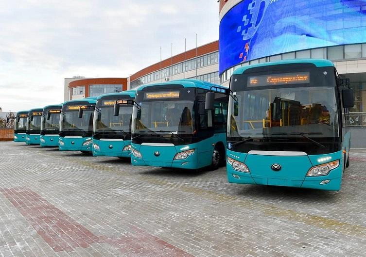 Автобусный парк обновляют в Петропавловске