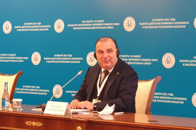 Депутат Европарламента: Высокая избирательная активность казахстанцев - это показатель возвращения к нормальной жизни