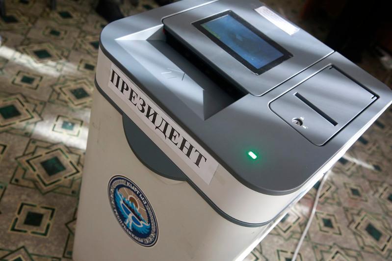 По состоянию на 18 часов на выборах в Кыргызстане проголосовали 33,13% избирателей