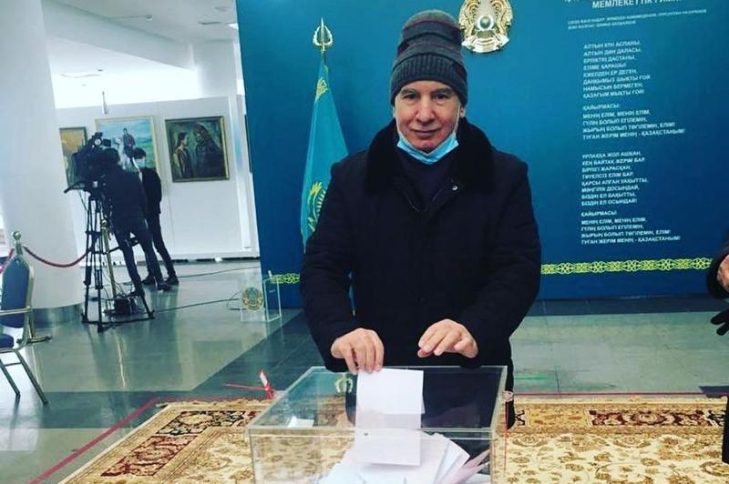 В Нур-Султане представители АНК приняли активное участие в голосовании
