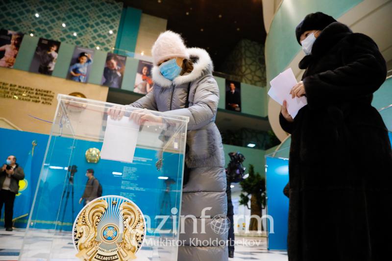 Еxit poll: партия Nur Otan набрала 71,97% голосов избирателей