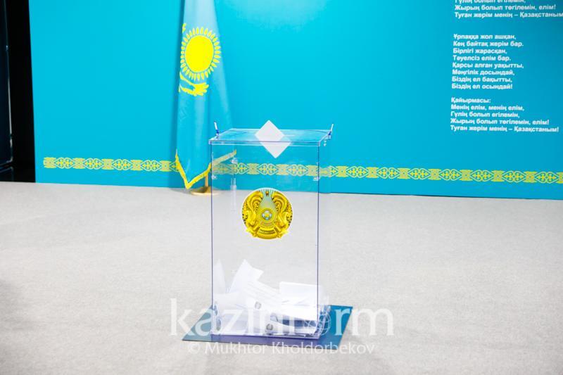 Завершилось голосование за кандидатов в депутаты Мажилиса от АНК