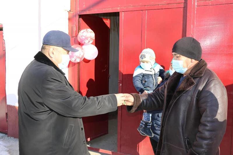 Түркістан облысының Түлкібас ауданында 140 отбасы баспаналы болды