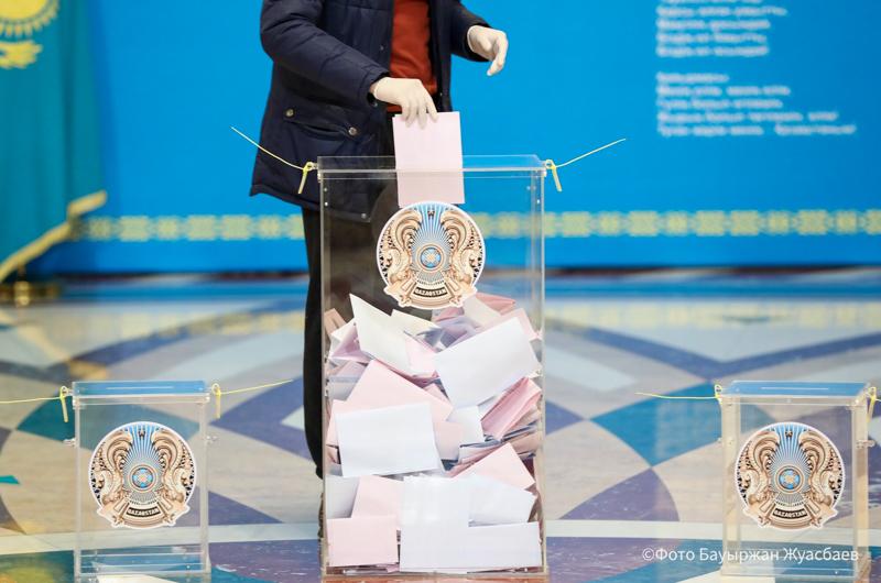 ОСК сайлаудың қорытындысын жариялады: «Nur Otan» партиясына  5 млн-нан аса дауыс берген